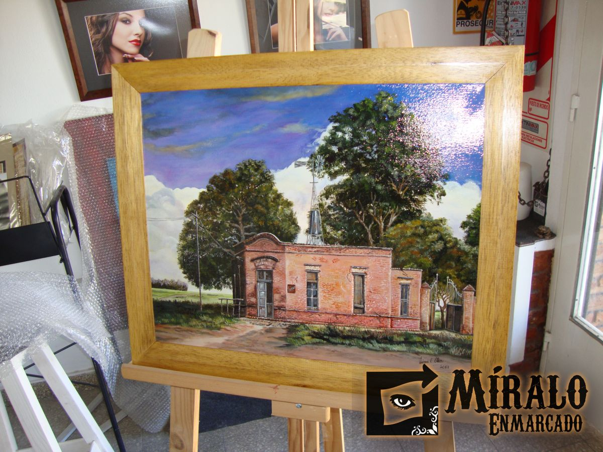 Atractivo Enmarcando Pinturas Al óleo Foto - Ideas Personalizadas de ...