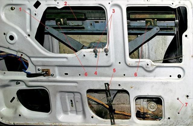 Установка стеклоподъемника на ваз 2107 своими руками видео