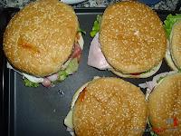 Hamburguesa Juicy Lucy-calentando la hamburguesa