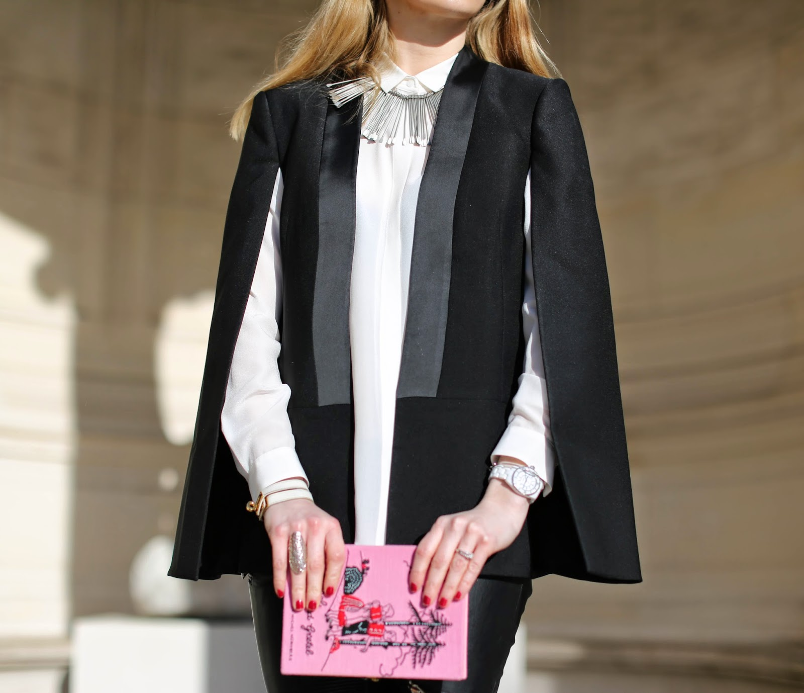 fashion week, zara, pearl and rubies, charlotte olympia, the outnet, streetstyle, fashion blogger