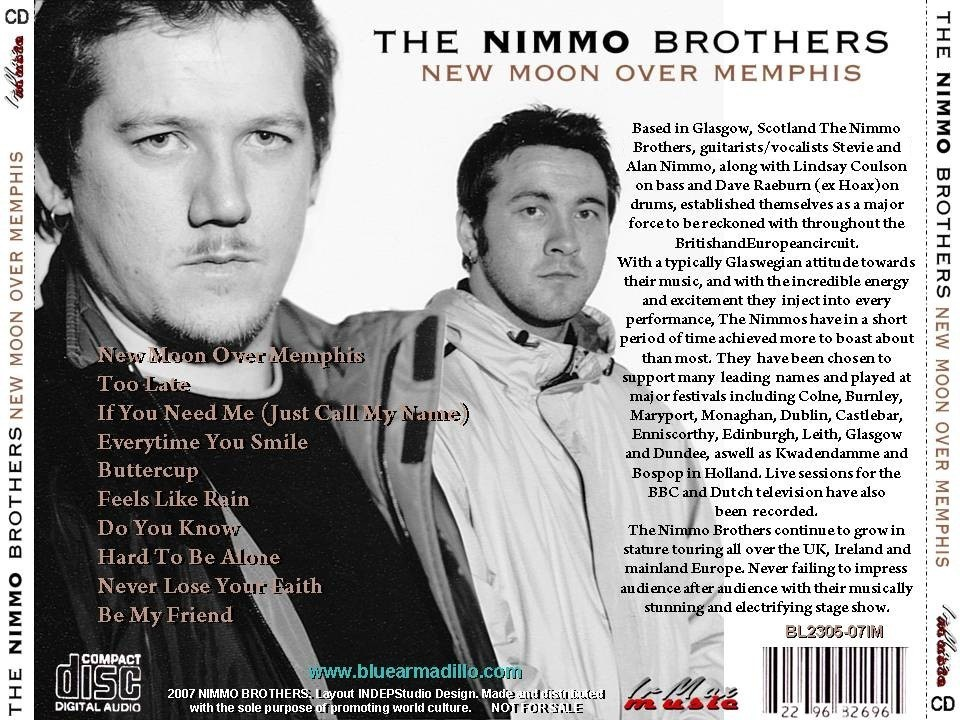 MZROCK: The Nimmo Brothers (Glasgow, Scotland)