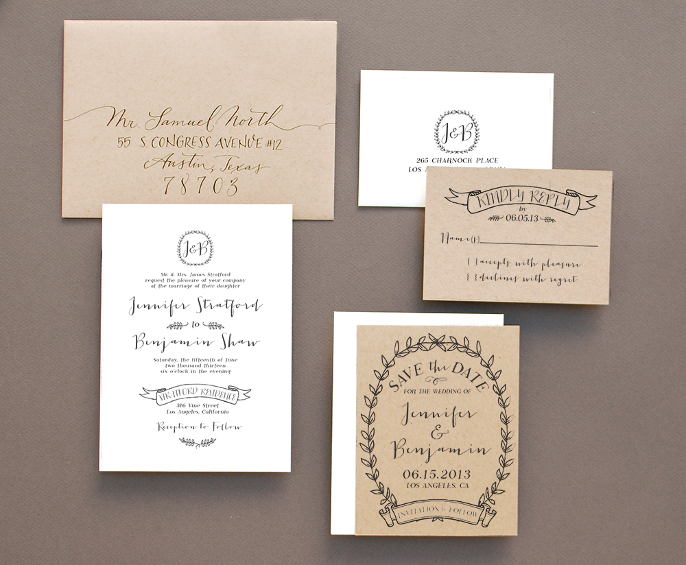 Antiquaria: Introducing our newest invitation stamp collections
