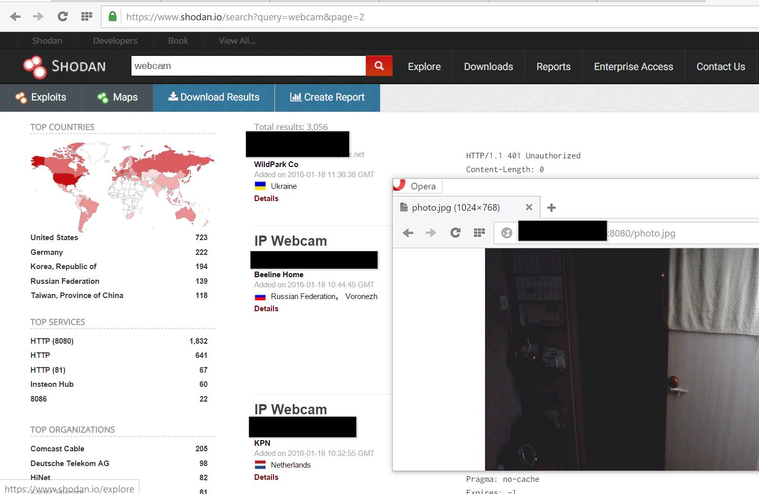 Agile: Spion im Wohnzimmer - Offene Webcams finden