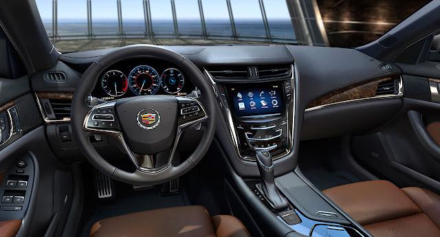 2014 Cadillac CTS Sedan dash