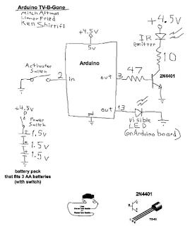 TV-B-Gone Arduino