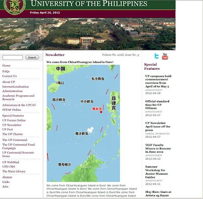 Chinese hackers deface Philippine website