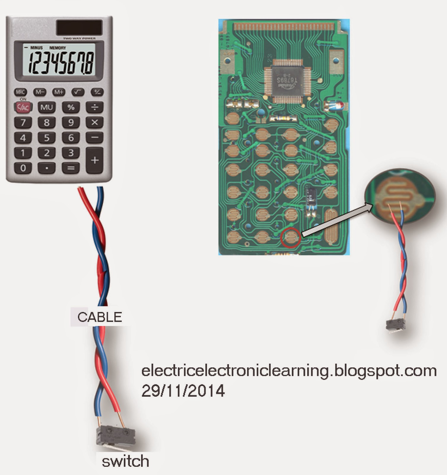 Membuat Counter Digital Kalkulator Hitung Calculator