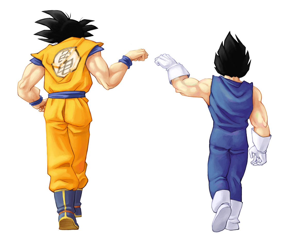 dragon ball z goku and vegeta