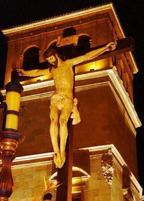 Cristo articulado de la hermandad de la Vera Cruz, denominado como Santo Cristo del Desenclavo. Foto. Fco. Javier Haro Gallego
