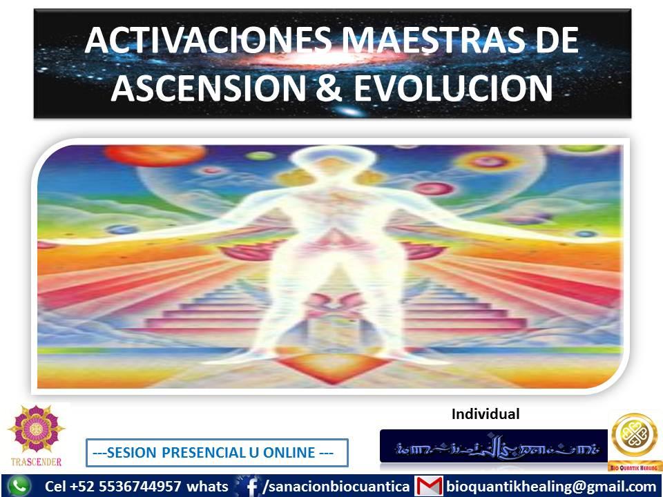 ACTIVACIONES MAESTRAS DE ASCENCION