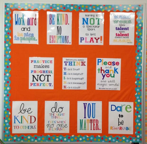 School Office Bulletin Board Ideas