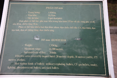 Caracteristicas 105mm Howitzer