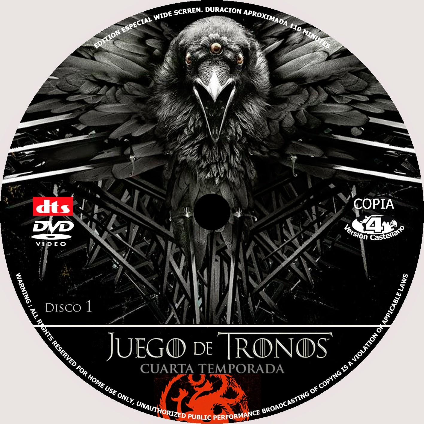 COVERCARATULAS DE DVD - CD COVERCREATORS: JUEGO DE TRONOS \