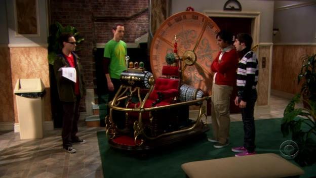 the big theory time machine
