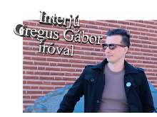 Interjú Gregus Gábor íróval