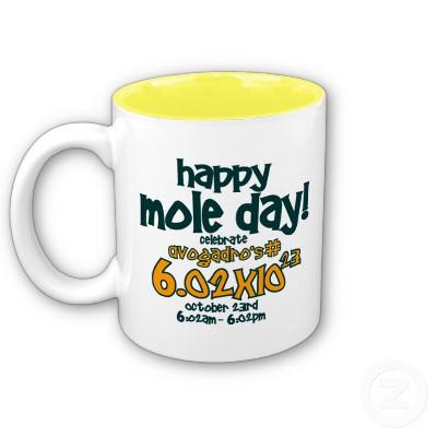 Happy mole day