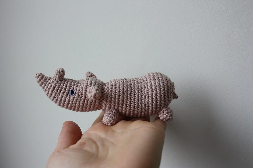 Crocheting Nicknames : Amigurumi creations by Happyamigurumi: Amigurumi Rhino and little ...