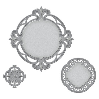 SBS4-588 Spellbinders Nestabilities Savoy Decorative Accent