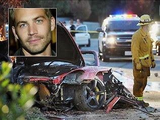 Foto Kecelakaan Paul Walker Hingga Tewas