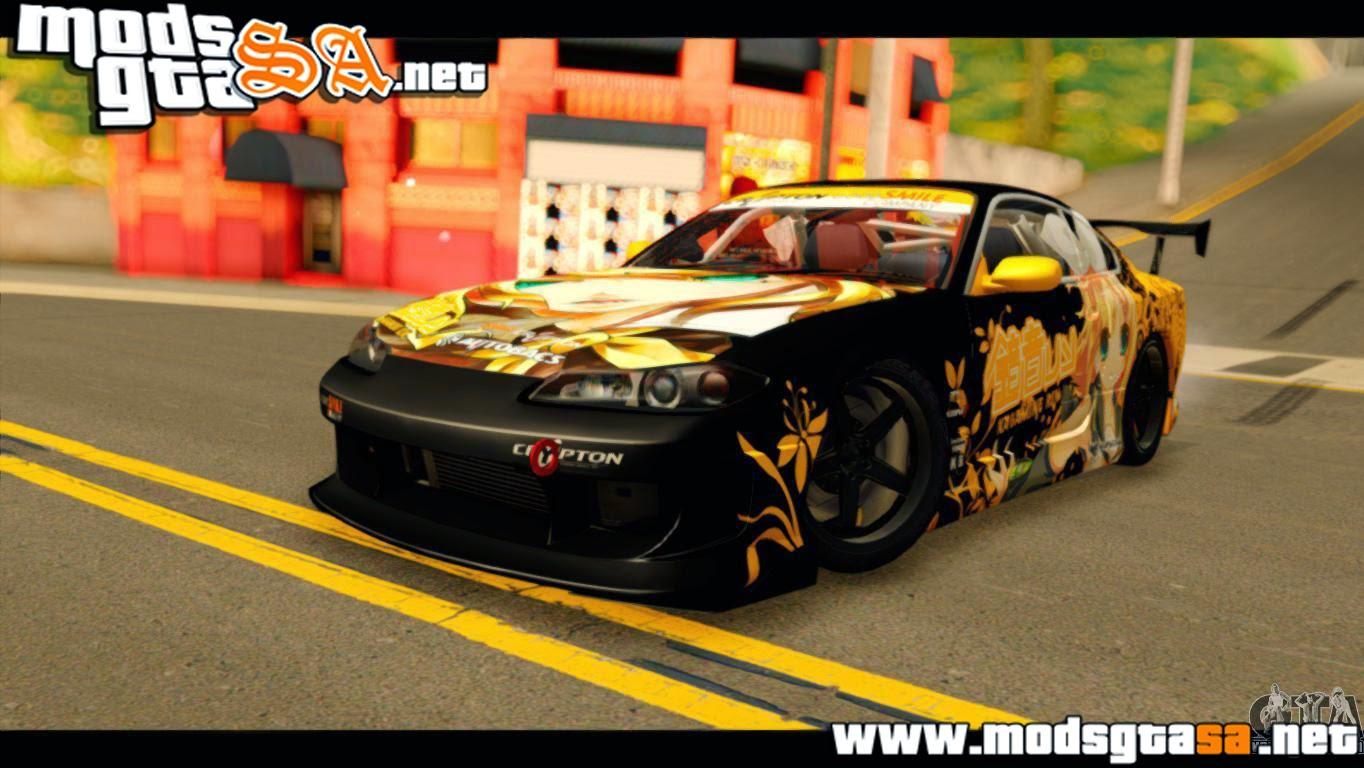 SA - Nissan Silvia S15 Kagamine Rin Itasha
