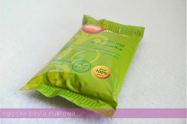 Egipska pasta cukrowa opakowanie