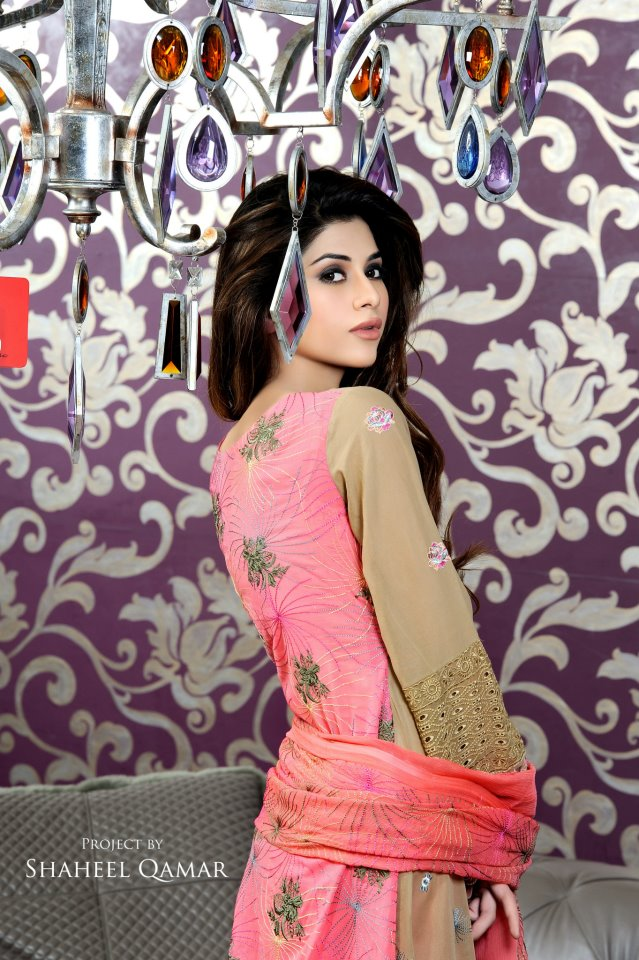 Shaista Wahidi Lawn Collection 2012