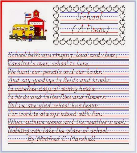 Handwritingworksheets com cursive