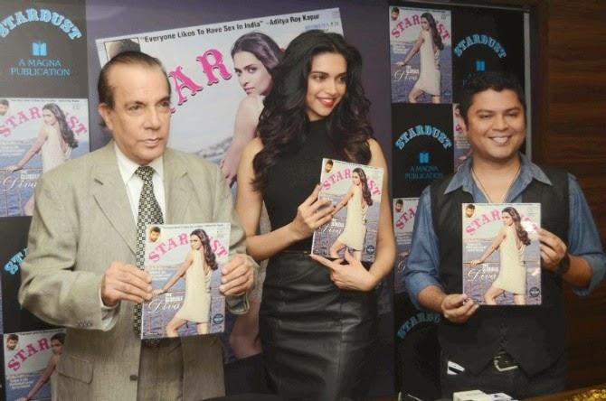 Deepika Padukone launch Stardust cover
