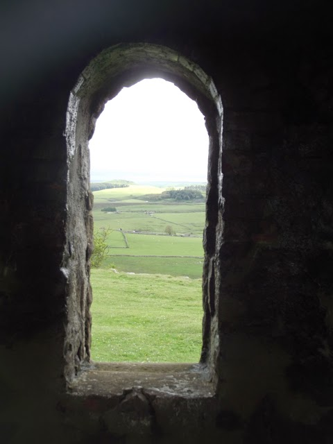 Arched window Solomon's Temple Buxton Country Park