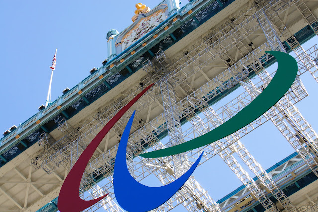 tower bridge paralympics logo london
