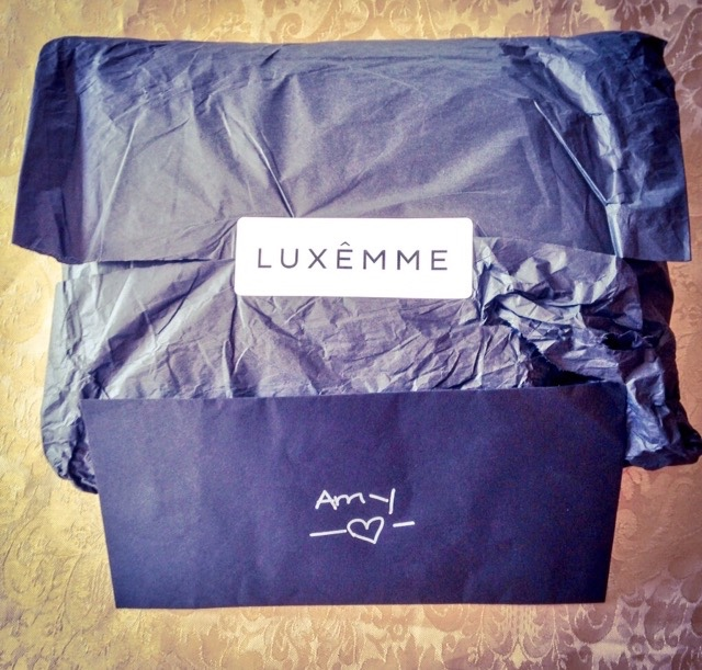 clothes, fashion, jacket, lifestyle, Luxemme, packaging, letter, black card, envelope, style, clothing