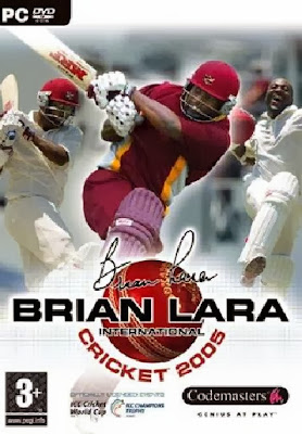 Brian Lara International Cricket 2005 PC Cover