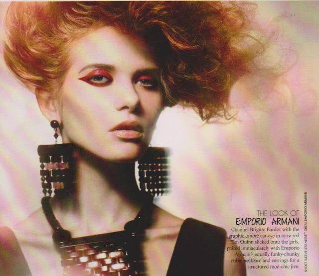 Ksenya Shirokova for Marie Claire Magazine, Malaysia