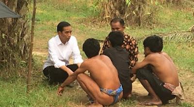[News] Kisruh Foto Jokowi dan Suku Anak Dalam