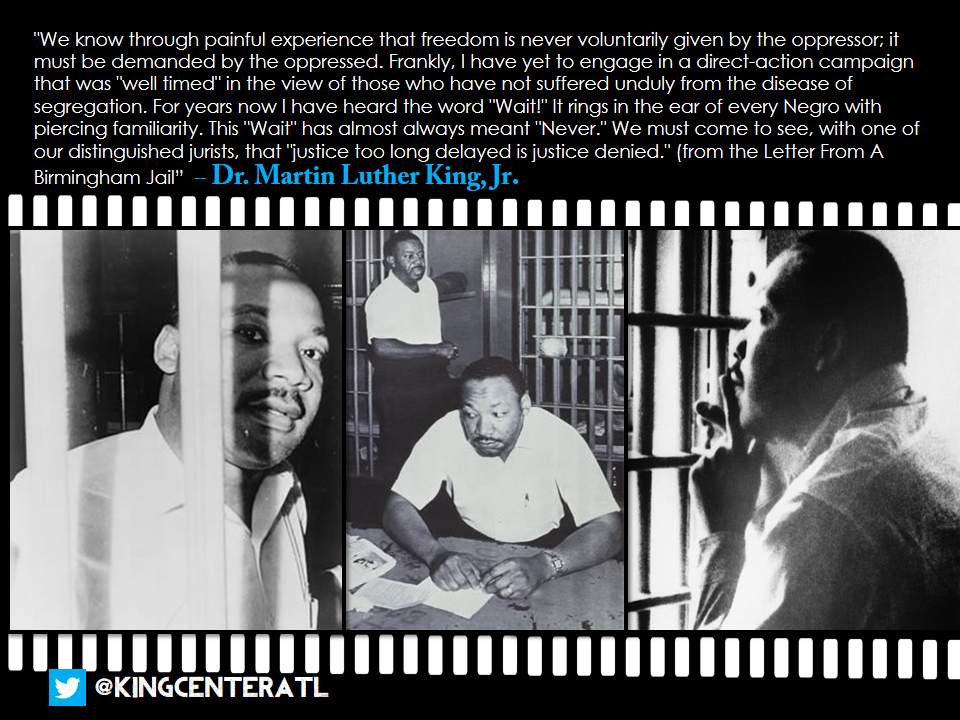 martin luther kings use of historical and religious figures in his letter from birmingham jail