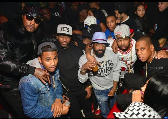 """BEYONCE, JAY-Z & MORE CLUB HEADS DANCE TO """"DRUNK IN LOVE OVER IN ATL- DivaSnap.com"""