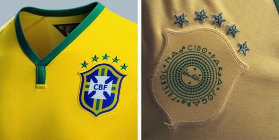 escudo da camisa seleção brasileira