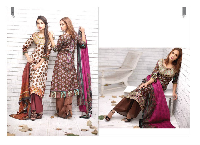 PrintedEmbroideredLawnwwwShe9blogspotcom252842529 - Rabea Designer Lawn Collection | Embroidered Lawn Collection of 2
