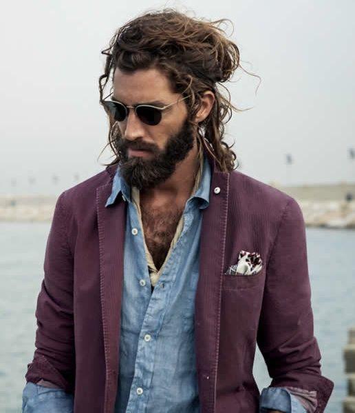 Cortes de cabello largo hombres 2016