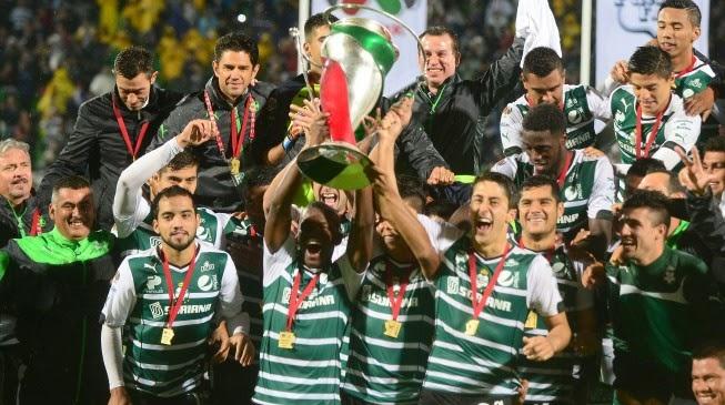 Santos campeón de la Copa MX