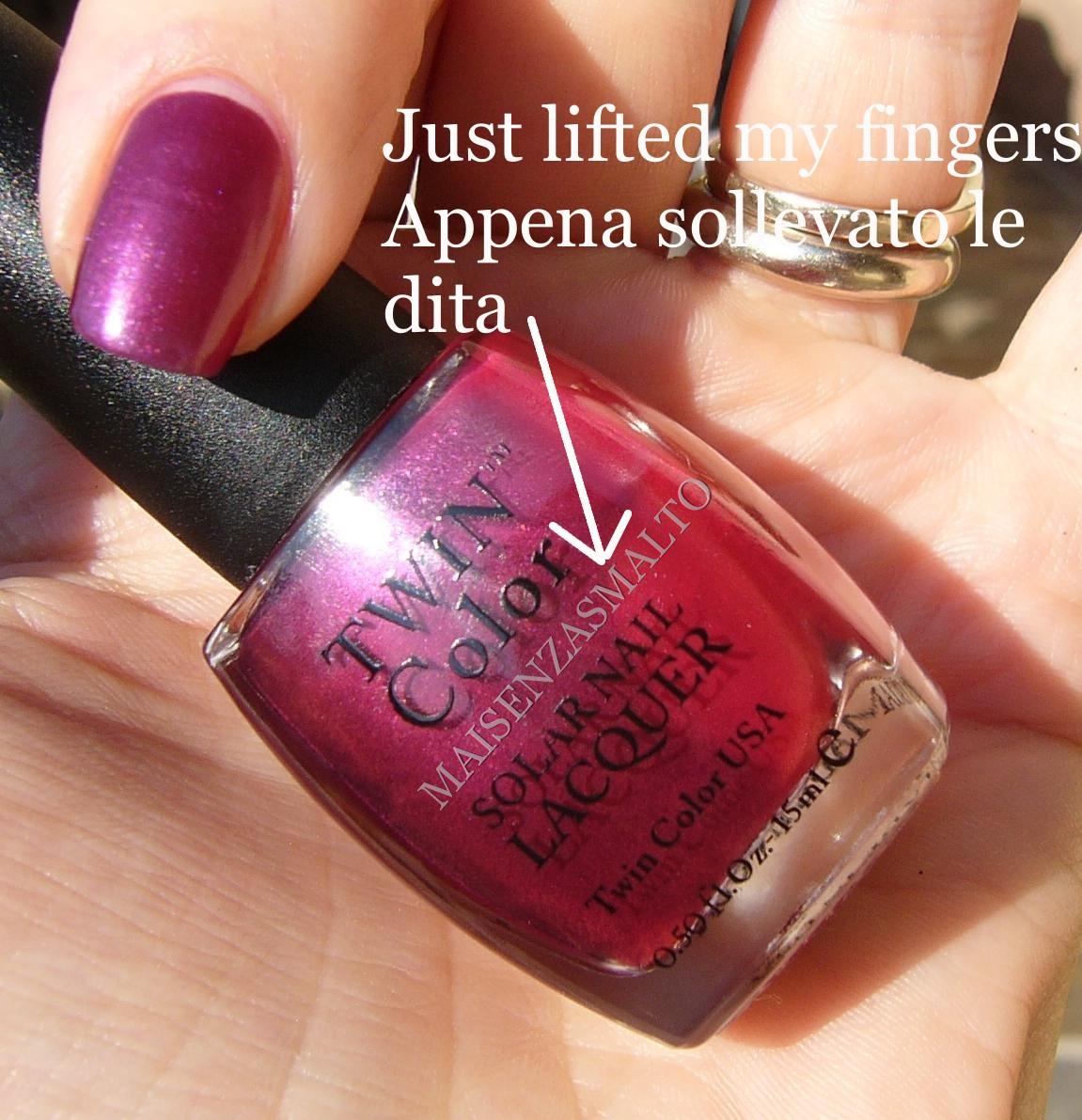 Mai senza smalto!: Twin Color Solar Nail Lacquer - Fuchsia Pink to ...