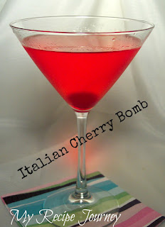 Italian Cherry Bomb Cocktail
