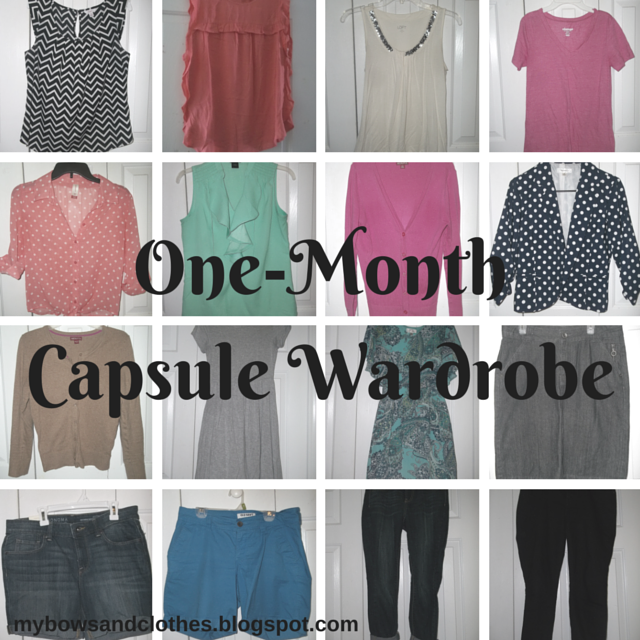 Capsule Wardrobe: What I Included. http://mybowsandclothes.blogspot.com/. #capsulewardrobe #clothes #BowsandClothes