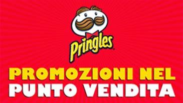 pringles. promozioni ai punti vendita e concorso
