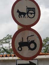 Verboden voor paard en wagen