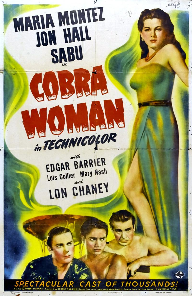 Cobra woman affiche