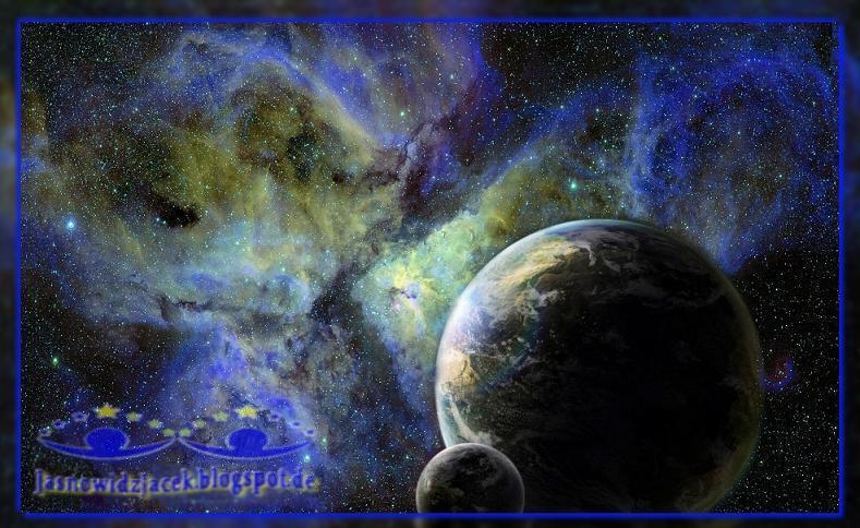 Piękno-wszechświata-Galaktyka-Planety