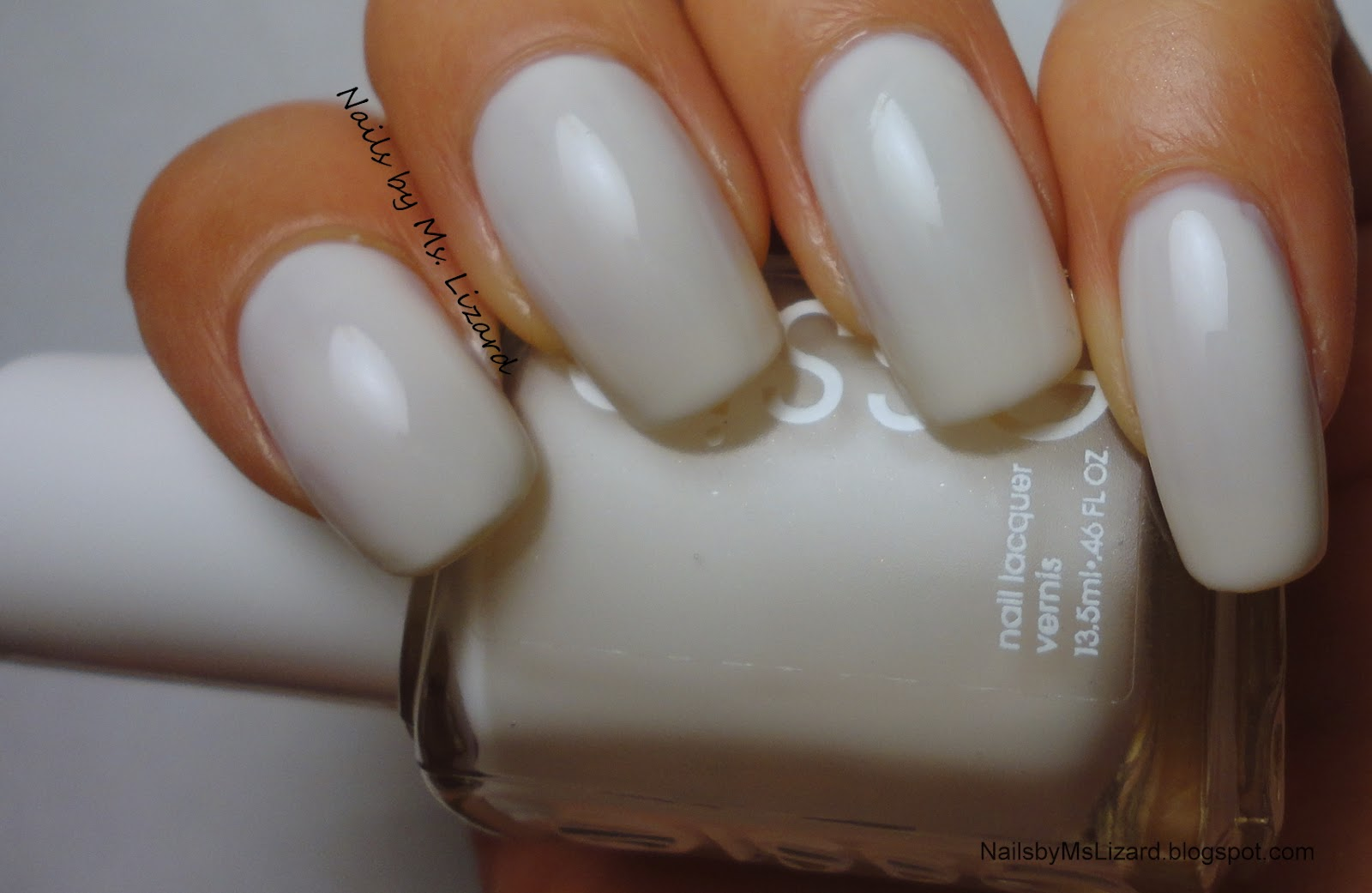 Nails by Ms. Lizard: NOTD: Essie Marshmallow