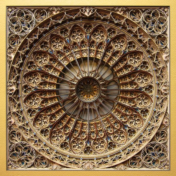 Incredible Laser Cut Paper Art by Eric Standley 7