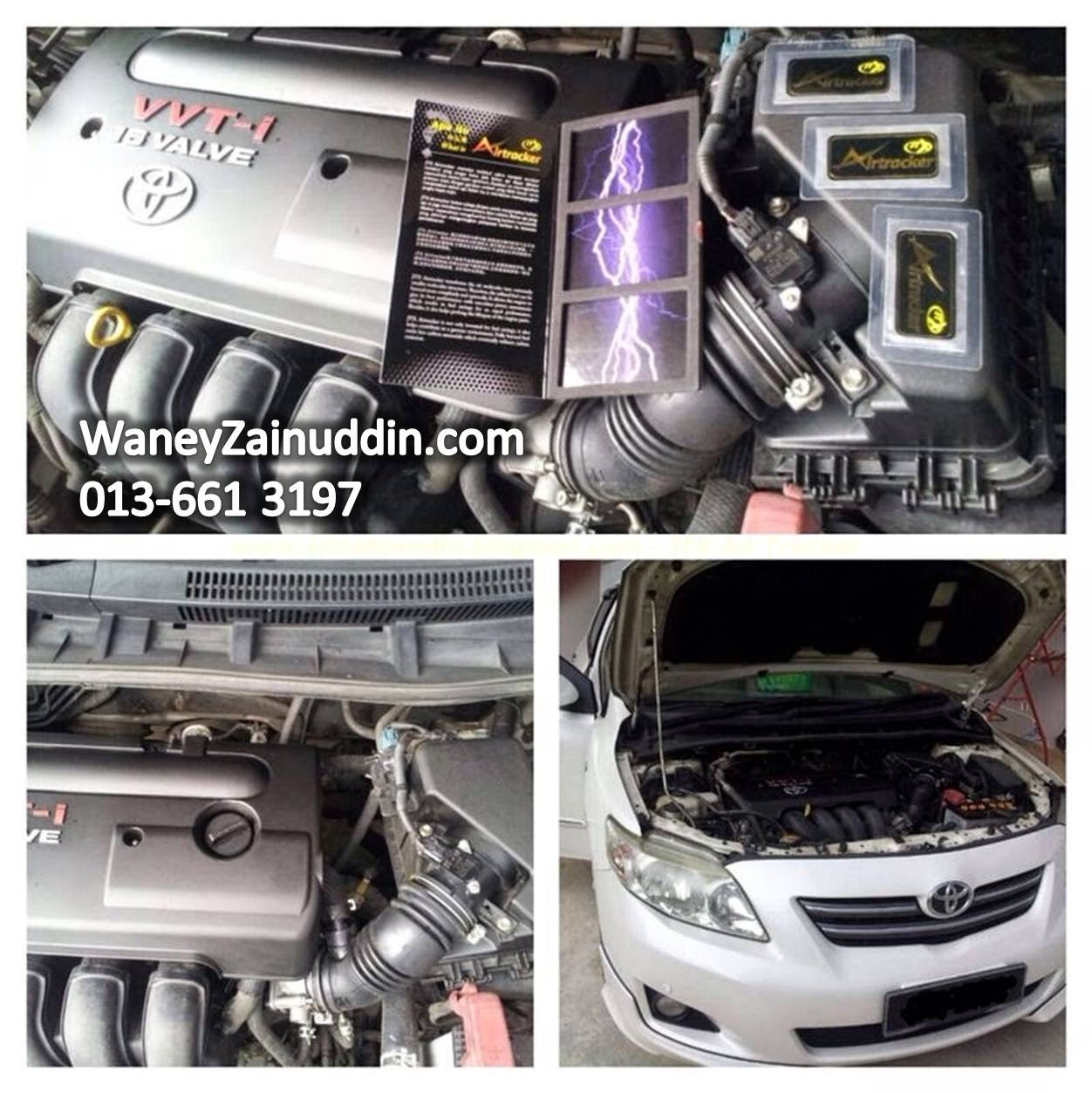 Installation JTX Air Tracker pada Toyota Altis 1.8cc.